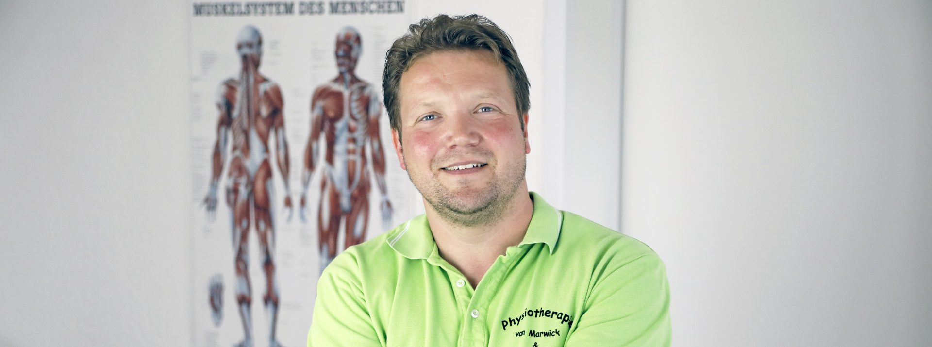 Physiotherapeut Michael van Marwick